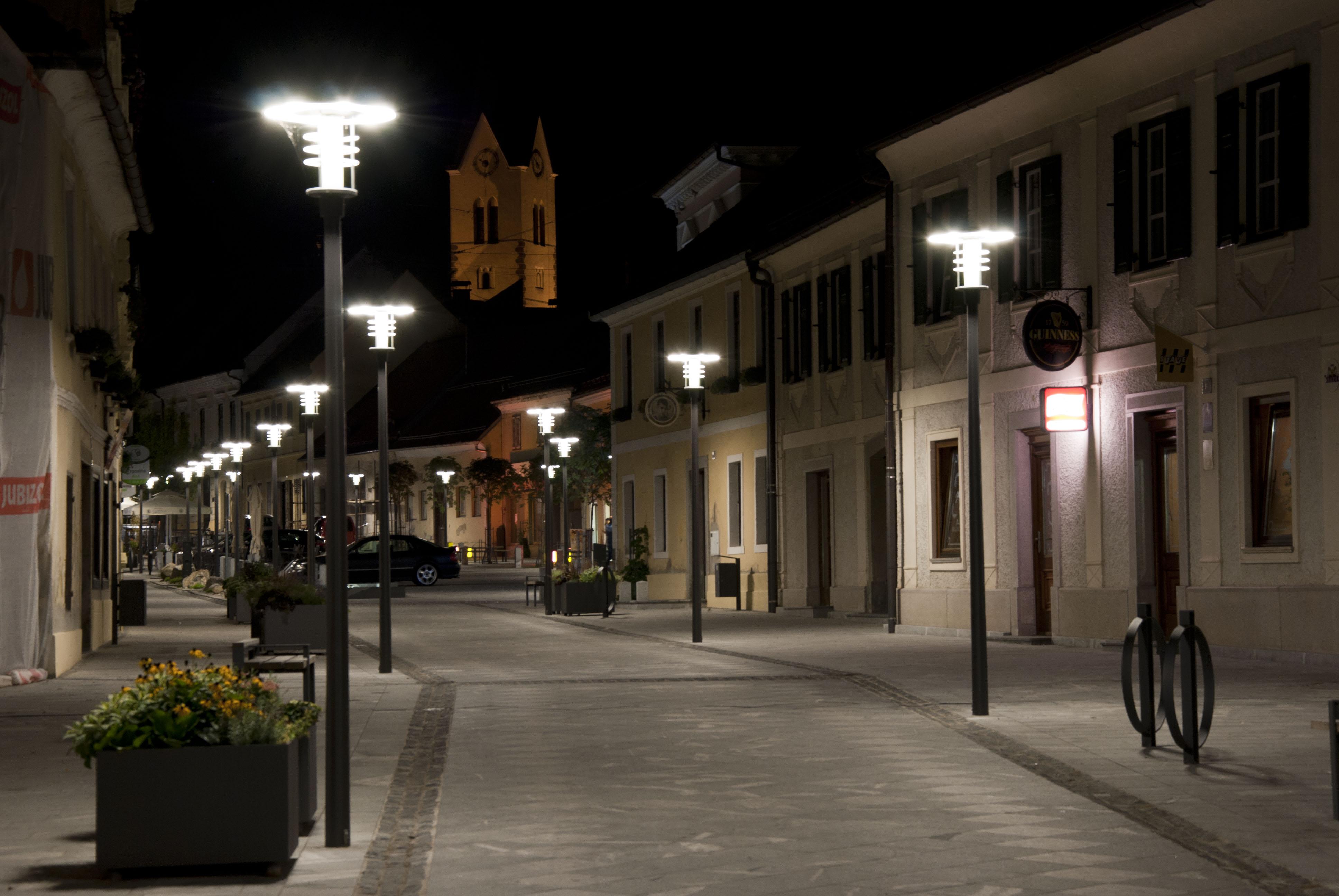 Illuminazione piazze e centri storici
